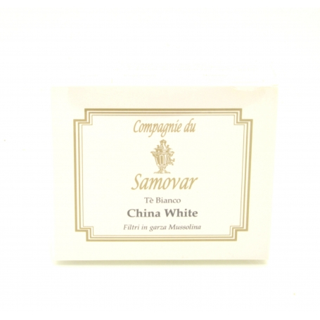 Samovar Tea - China white - box of 20 filters - Tè
