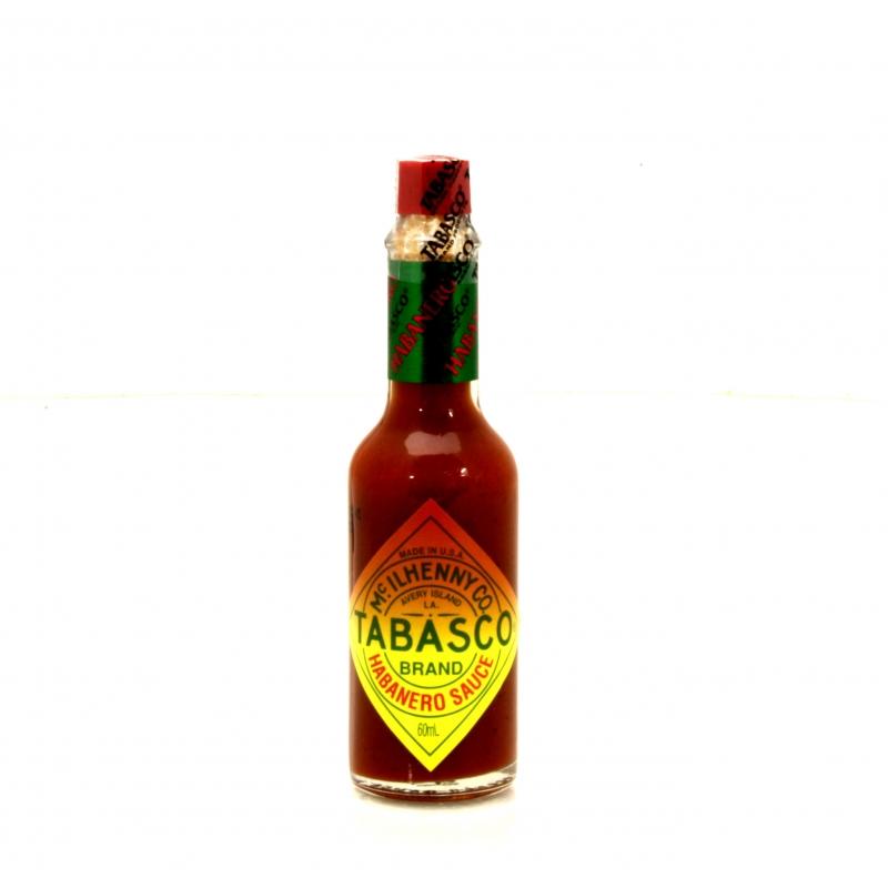 Tabasco Habanero Sauce, 60 ml - Mcilhenny