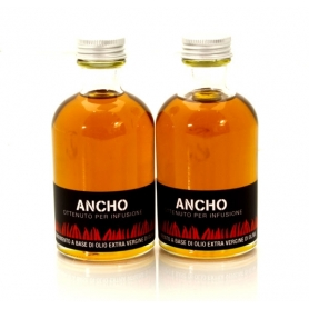 Olio aromatizzato al peperoncino - Ancho, 100 ml