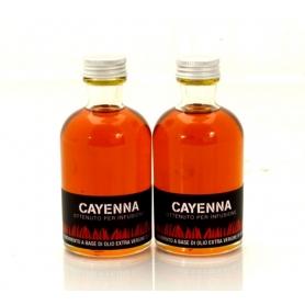 Olio aromatizzato al peperoncino - Cayenna, 100 ml