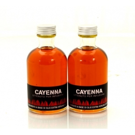 Oil flavored with hot pepper - cayenne, 100 ml