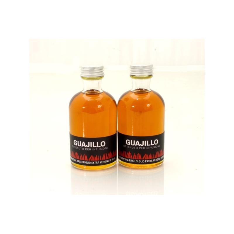 Olio aromatizzato al peperoncino - Chipotle verde, 100 ml