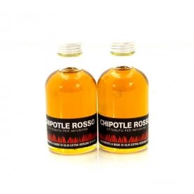 Olio aromatizzato al peperoncino - Chipotle rosso, 100 ml