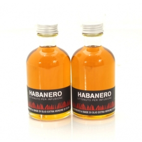 Oil flavored with chili - Habanero, 100 ml