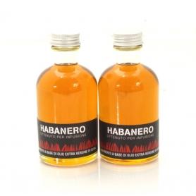 Olio aromatizzato al peperoncino - Habanero, 100 ml