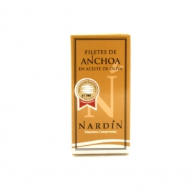 Nardin - Anchovy fillets in olive oil, 50 gr. - Conserve di mare