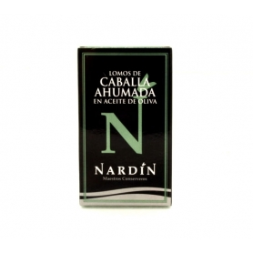 Nardin - smoked mackerel in olive oil, 100 gr