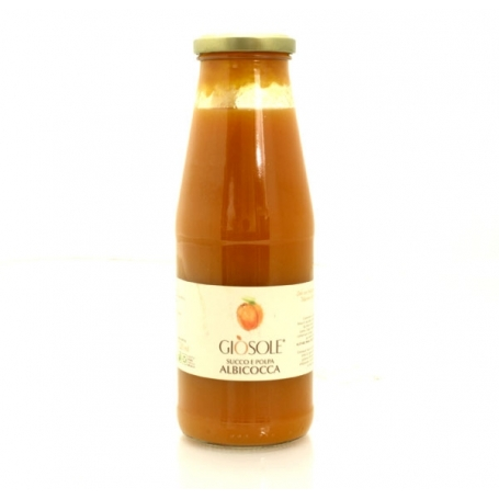 Succhi e polpa di frutta - Masseria Giosole, Albicocca 720 ml - Succhi di frutta