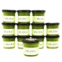 The fresh Genoese Pesto, Red, glass jars 85 gr