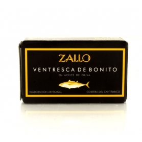 Ventresca of North tuna in olive oil, 120 gr