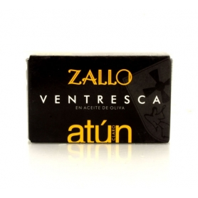 Ventresca of Yellowfin tuna in olive oil, 120 gr