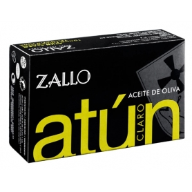 Yellowfin tuna fillets in olive oil, 120 gr - Zallo