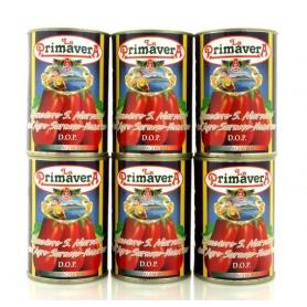 Agro Sarnese Nocerino San Marzano tomatoes, 260 gr, 6 pieces