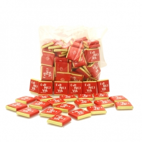 Genoa Logo chocolates, More Than This - dark, 1kg