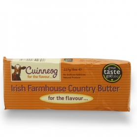 Salted butter Irish, 227 gr - Cuinneog