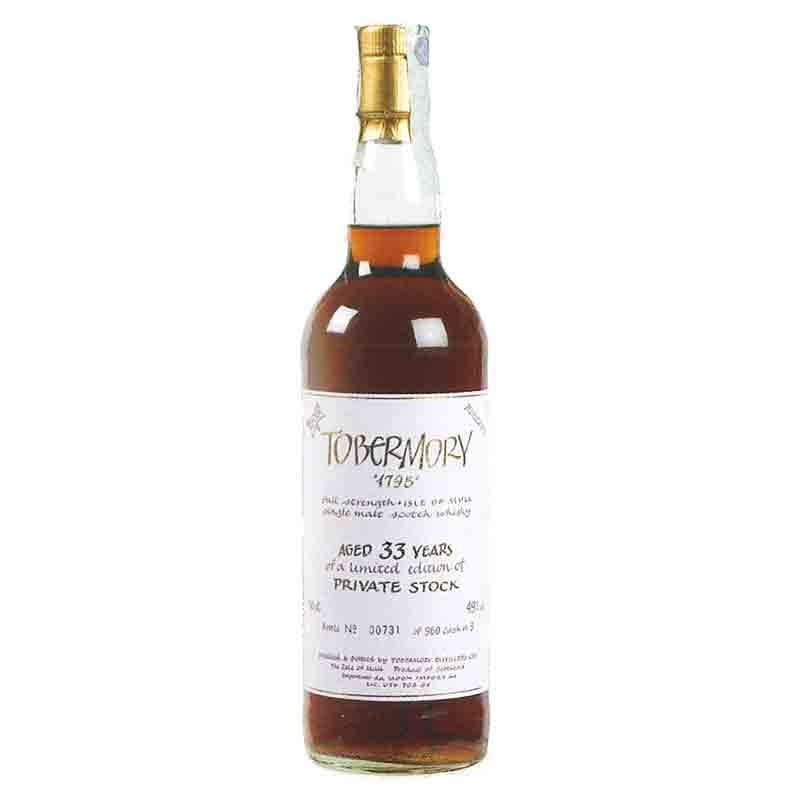 Whisky Tobermory - 33 anni