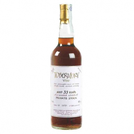 Tobermory Whisky - 33 ans - Whisky