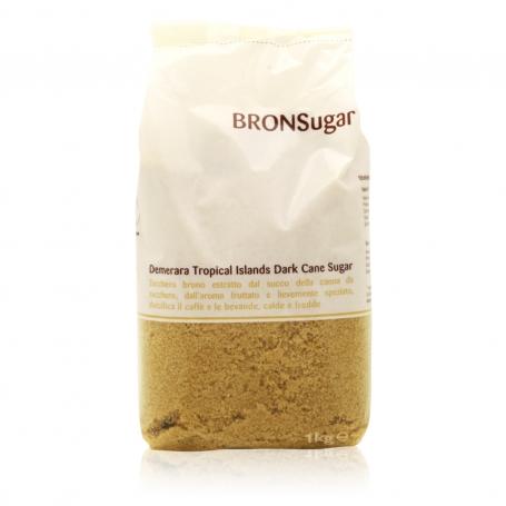 BRONSugar - Brown sugar quality brown Demerara 1kg - Root