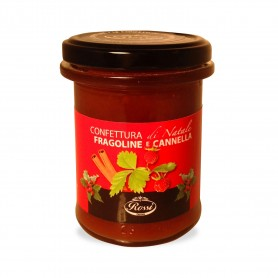 Strawberries jam and cinnamon, 215 gr. - Rossi