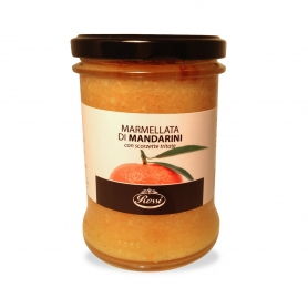 Mandarin Marmalade with chopped peel, 385 gr - Rossi