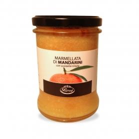 Marmellata di Mandarini con scorzette tritate, 385 gr - Rossi