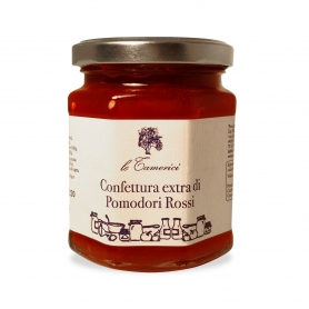 Extra jam of red tomatoes, 220 gr. - Le Tamerici