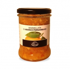 Orange Marmalade Pernambuco with chopped peel, 350 gr. - Rossi