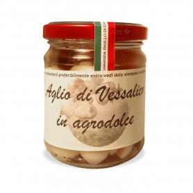 Aglio di Vessalico in Agrodolce, 194 gr. - A Resta Società Cooperativa Agricola