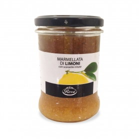 Lemon Marmalade with chopped peel, 330 gr - Rossi
