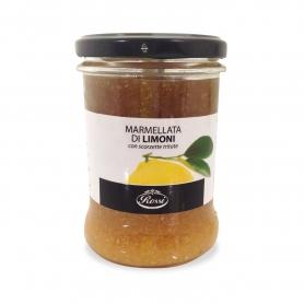 Marmellata di Limoni con scorzette tritate, 330 gr - Rossi