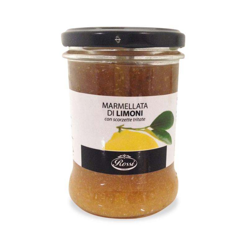 Zitrone Marmelade mit gehackten Schwarte, 330 Gr-rot