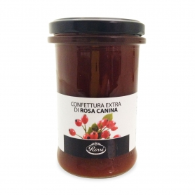 Extra Jam Red Rose Hips, 330 gr - Rossi