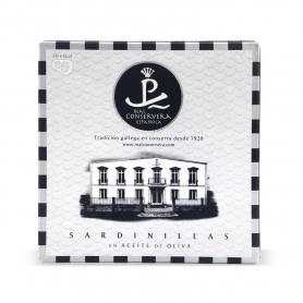 Sardine in olio di oliva, 150 gr. - Real Conservera Espanola