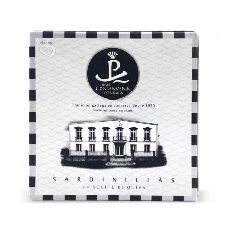 Real Conservera Espanola - Sardine in olio di oliva, 150 gr