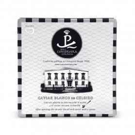Uova di Merluzzo in olio di oliva (Caviar Blanco), 140 gr - Real Conservera Espanola