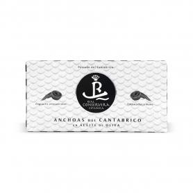 Anchois cantabriques, 50 gr. - Immobilier Conservera Espanola