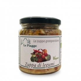 Vegetable soup, 300 gr - Le Piagge - Minestre, Zuppe, Vellutate