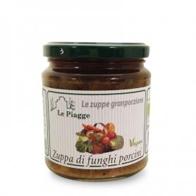 Zuppa di funghi porcini, 300 gr - Le Piagge