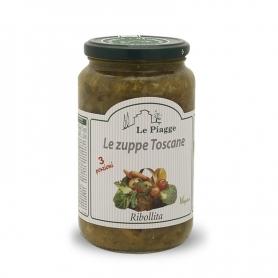 Ribollita Suppe, 540 gr - Le Piagge - Minestre, Zuppe, Vellutate