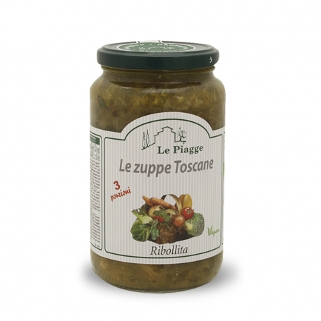 Ribollita Suppe, 540 gr - Le Piagge - Minestre, Zuppe, Vellutate