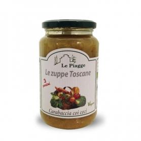 Zuppa carabaccia coi ceci, 540 gr - Le Piagge