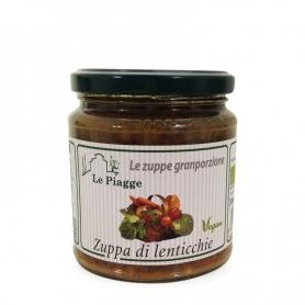Zuppa di lenticchie, 350 gr - Le Piagge