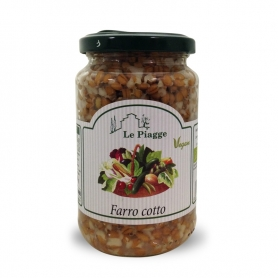 Farro cooked, 340 gr - Le Piagge