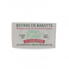 beurre salé Normandie, 250 gr - Le Gaslonde