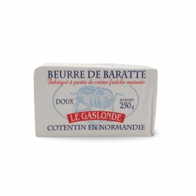 sweet Normandy butter, 250 gr - The Gaslonde