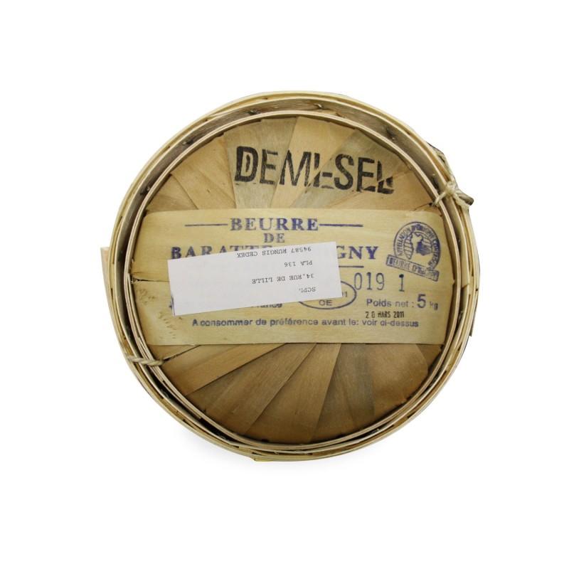 """Burro della Normandia salato in """"botte"""", 5kg"""