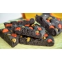 "Carbone Vegetale ""Chef in Black"", 80 gr. - Molini Spigadoro"