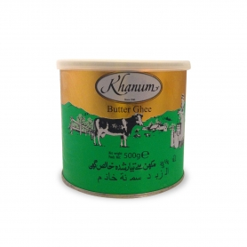 GHEE clarified butter, 500 gr. - Khanum