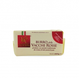 Italian Red Cows butter, 250 gr. - Consortium Red Cows