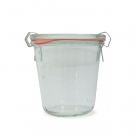 Glass jar, 290 ml. , 6 pcs - Weck